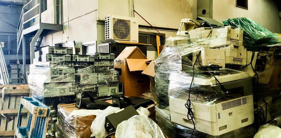 El reciclaje electrónico se apodera del mundo empresarial